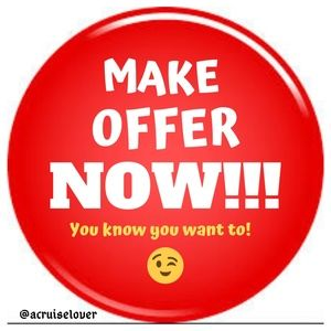 Other - Making an offer is FREE & I may just accept yours!